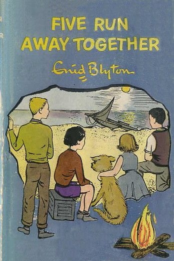 Five Run Away Together by Enid Blyton