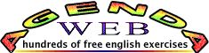 English grammar and vocabulary exercises.