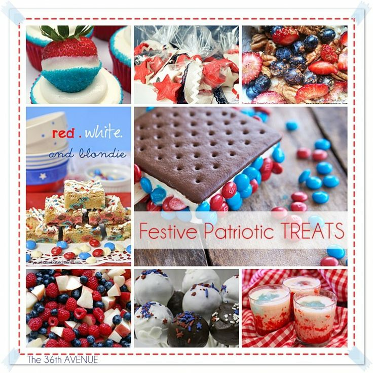 4th of July Delicious Treats!