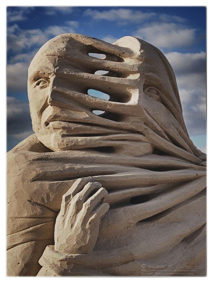 coffeenuts:  2011 World Sand Sculpture Championship Detail 02 by *tmfNeurodancer