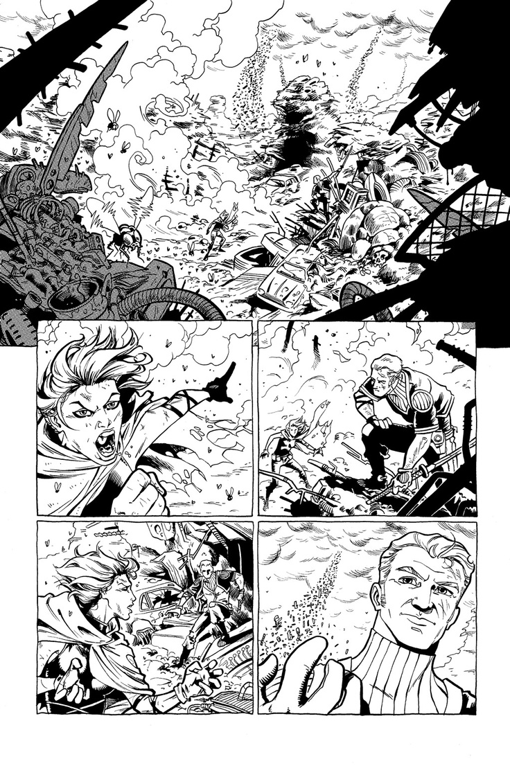 Two page test i did a while back for Boom's Higher Earth series http://iliaskyriazis.blogspot.com/2012/03/higher-earth.html