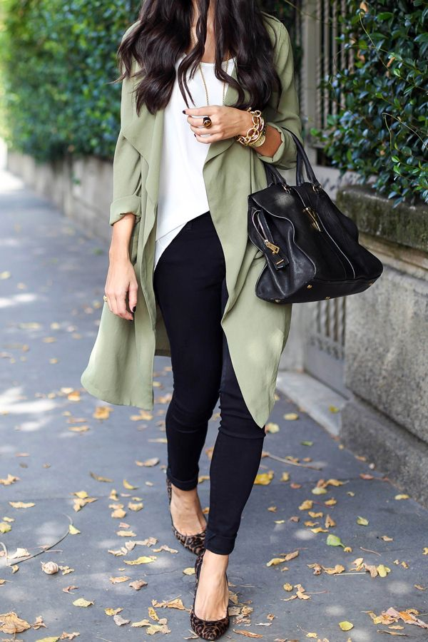 @kattanita in the Rain or Shine Draped Jacket #trench #olivegreen || Get the coat: http://www.nastygal.com/product/rain-or-shine-draped-jacket--olive?utm_source=pinterest&utm_medium=smm&utm_term=ngdib&utm_content=nasty_gals_do_it_better&utm_campaign=pinterest_nastygal