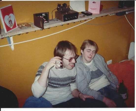 Dave Mann and Paul Stevenson 85
