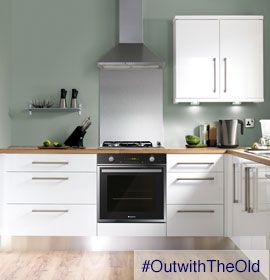 #OutWithTheOld a new cooker...yes please I lost the hair on my hands last week due to a broken hob!