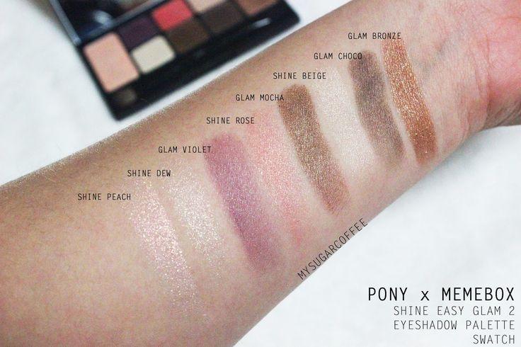 ผลการค้นหารูปภาพสำหรับ pony memebox shine easy glam