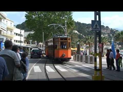 The tram in Soller