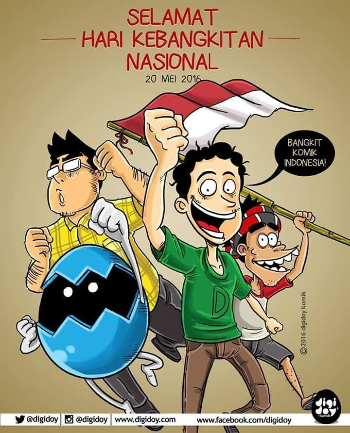Selamat Hari Kebangkitan Nasional!  Ayoo bangkitlah kelen jangan malas-malasan. Merdeka! by digidoy