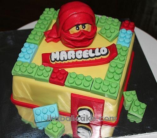 Ninjago Birthday cake ikabalicake.com