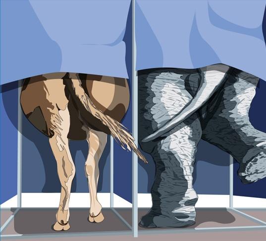 Voting by Ken Barnedt