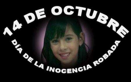 El 14 de octubre es el Día de la Inocencia robada