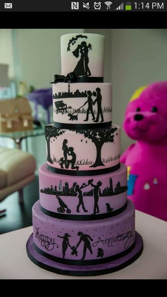 Wedding cake idea , not really my theme but its so cute!