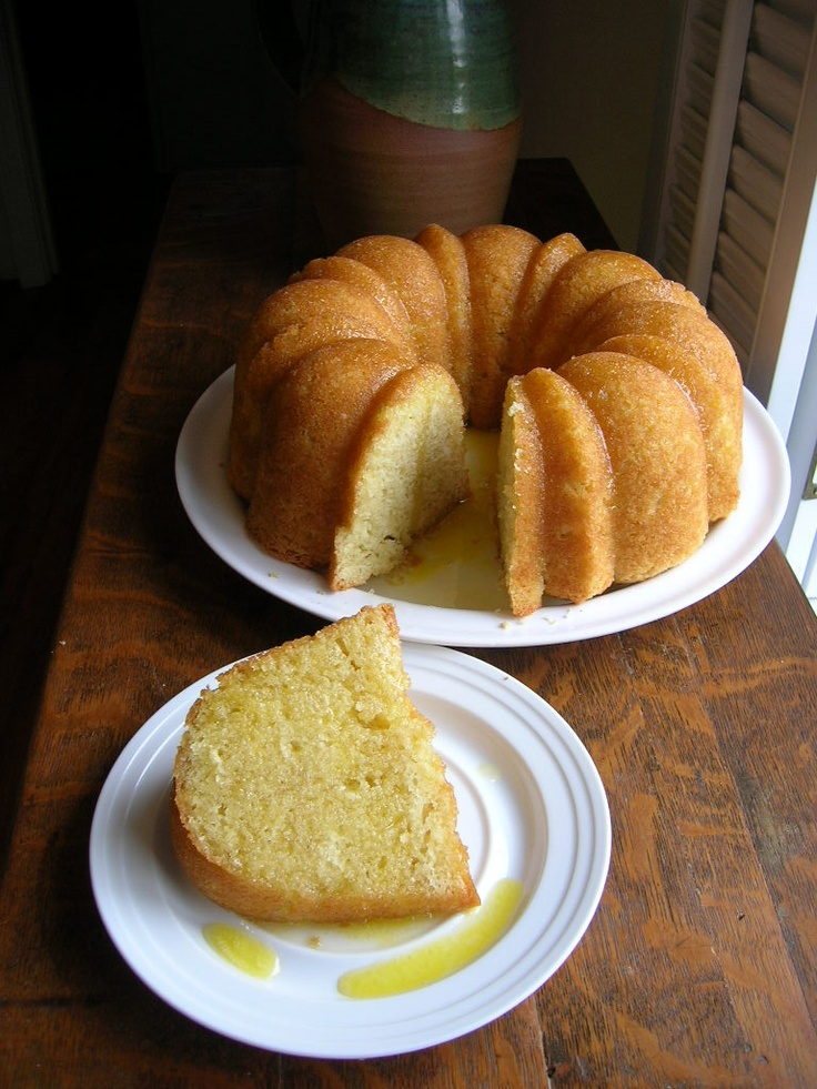The Country Cook: Kentucky Butter Cake with Rum Sauce