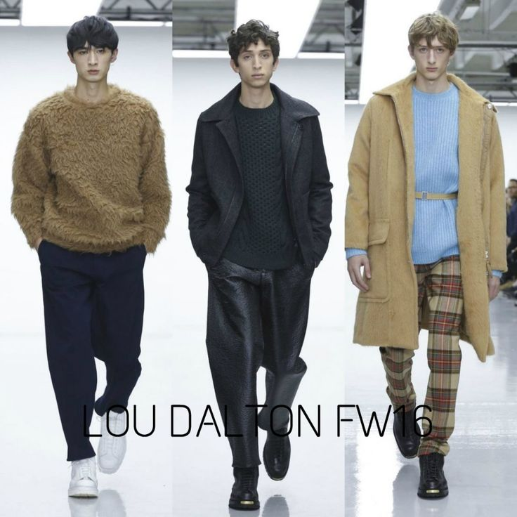 Lou Dalton FW16. Click through to read His Style Diary's commentary on the London Collections: Men Fall/Winter 2016 season!