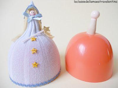 Φτιάξτε μαγικές κούκλες, χριστουγεννιάτικα στολίδια και κατασκευές με απλά υλικά ~ Είμαι παιδί