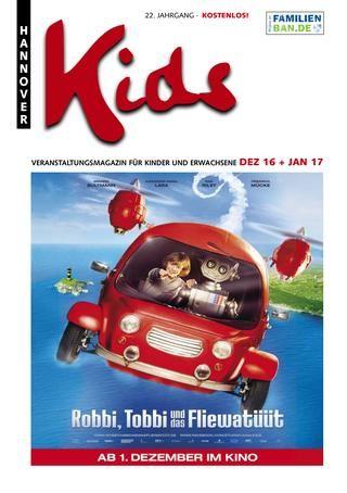 April-Ausgabe der Libelle, Stadtmagazin für Familien in Düsseldorf und Umgebung