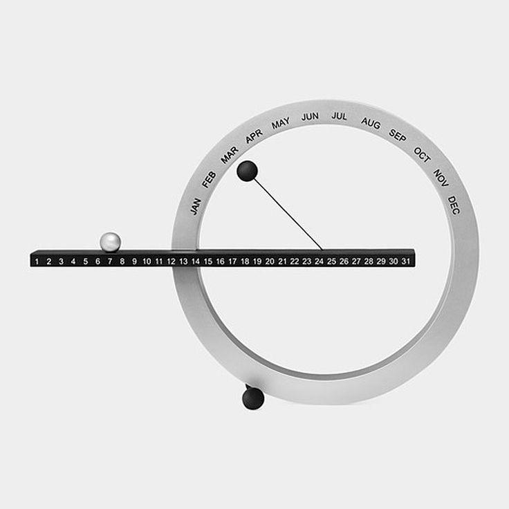 Calendrier perpétuel MoMA - Gideon Dagan