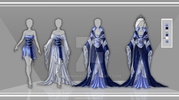 DeviantArt: More Collections Like Com: Design outfit 6 by LaminaNati