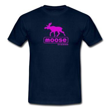 MooseofNorway T-skjorte | Spreadshirt | ID: 26228812