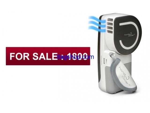 1. Mini air conditioner 2.It is portable. 3.Package;1pcs/box,size:13.7*5.9*20.7cm 4.Color:Black , pink ,blue Mini air conditioner....