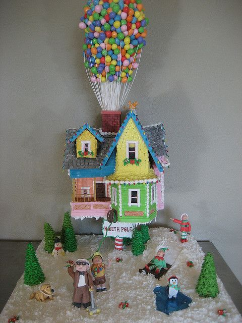 UP! in gingerbread