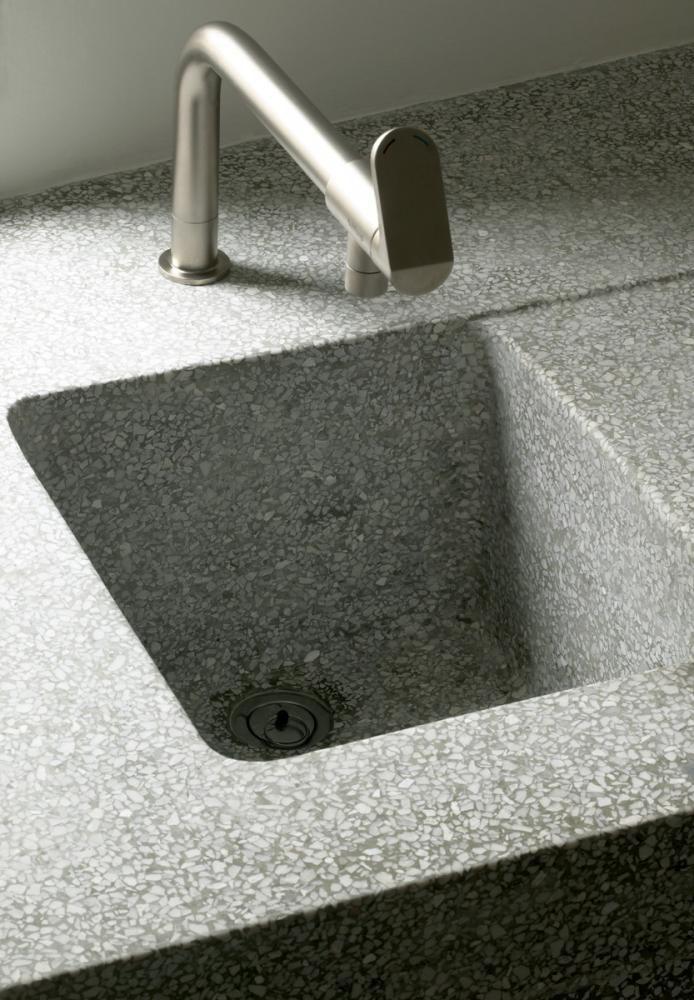 124 best terrazzo images on pinterest | floor design, homes and ... - Terrazzo Kitchen Sinks