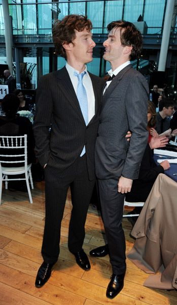 Cumberbatch and Tennant- what dreams are made of.