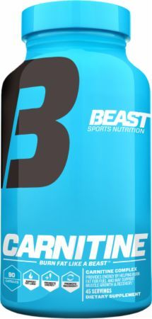 Beast Sports Nutrition Carnitine  90 Capsules ULTRA4360015  - Designed To Preserve Hard Earned Muscle And Support Fat Loss*
