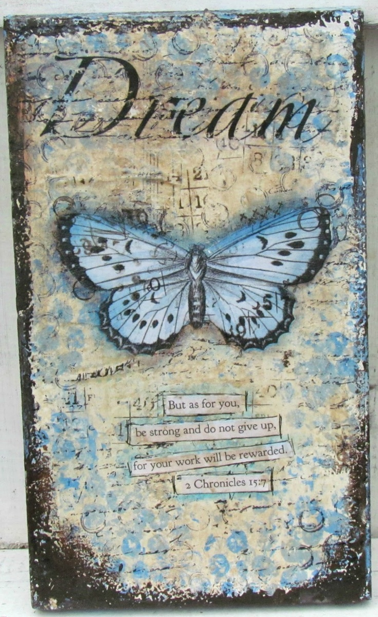 Pretty -- Casandra C at This Art That Heals.  She has such a lovely aesthetic.  Other projects like this on her blog.