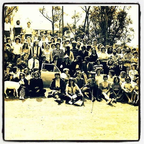 Griffith University back in 1975. First year of Australian Environmental Studies at Nathan campus.