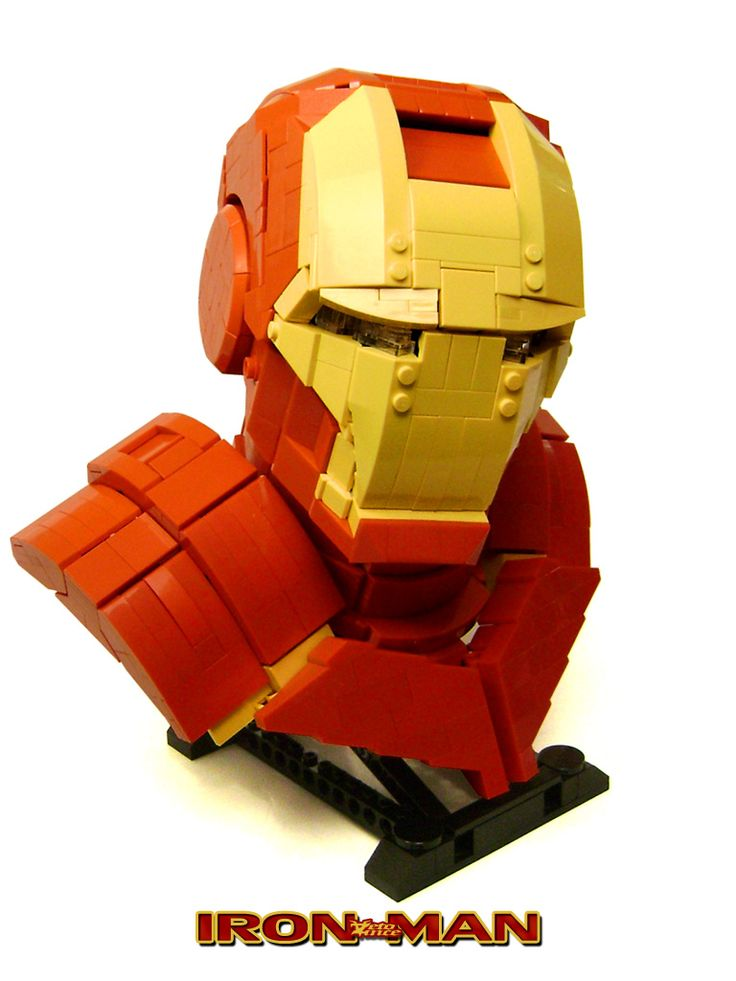 "Tony Stark has made several versions of his Iron Man armor, but has he built one from LEGO yet? No. Maybe he's worried playing with toys will ruin his ""genius, billionaire, playboy, philanthropist"" reputation. It's okay. He's not needed because LEGO builder George Panteleon, a/k/a ZetoVince, is already on the case. Panteleon didn't build an entire Iron Man suit (yet), but he did assemble an impressive 1:2 scale bust replica with glowing eyes. Isn't it s..."