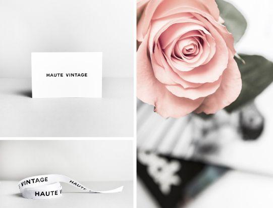 Effective Minimalist Branding for Haute Vintage