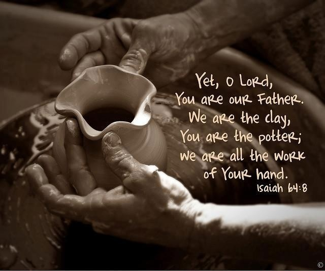 the way we turn clay to make a vessel the pottery analysis Are you the potter or the clay  so he made it again another vessel, as seemed good to the potter to make it  the only way we know about true salvation is .