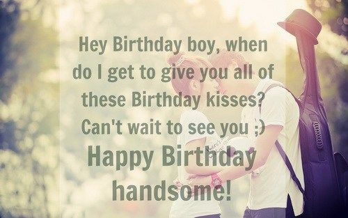 Happy Birthday Quotes for Lover Boyfriend Romantic - Todays News