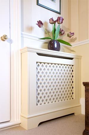 Like this idea for the hallway to make a bit of storage space for dumping post (or having flowers on!)