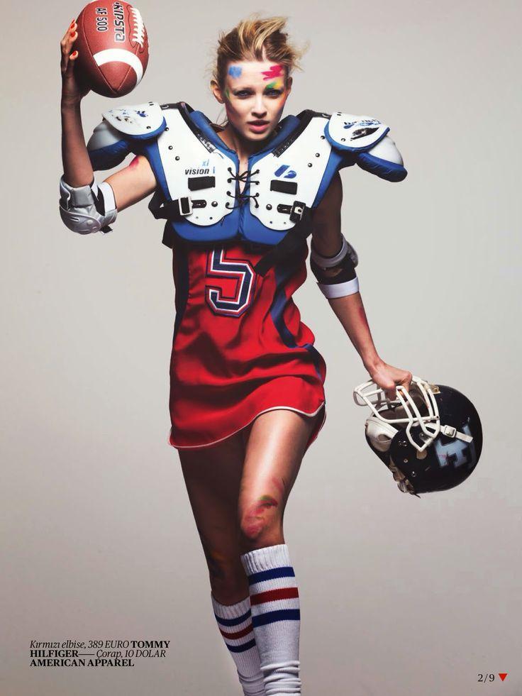 Vogue Turkey April 2014   Natalie Siodmiak by David Bellemere  [Editorial]