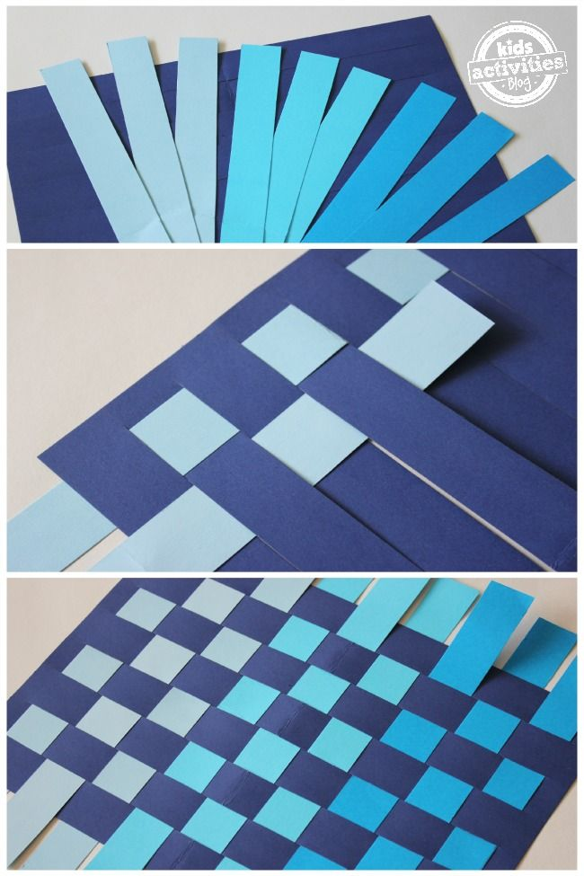 PAPER WEAVING CRAFT FOR KIDS