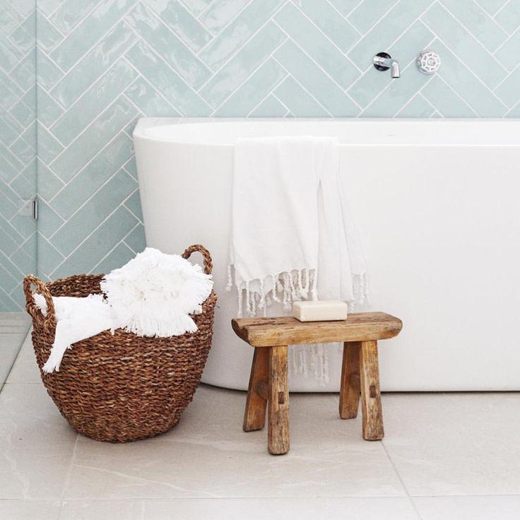 "2,778 Likes, 46 Comments - THREE BIRDS RENOVATIONS (@threebirdsrenovations) on Instagram: ""Little stools for little PEOPLE  #lanasforeverhome #threebirdsrenosix Bath & Tap @caromaaustralia"""
