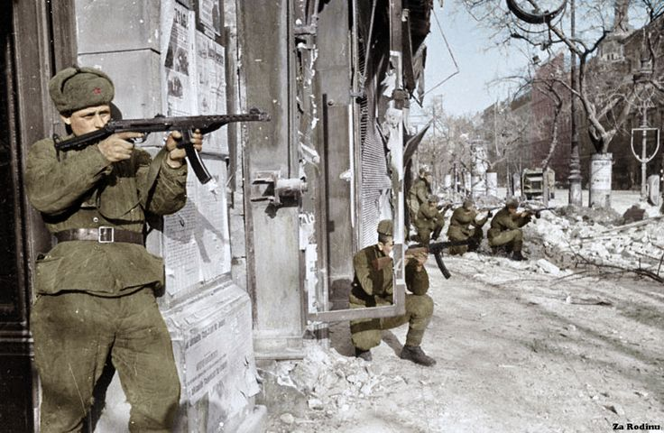 Soviet soldiers in Budapest 1945 | Flickr - Photo Sharing!