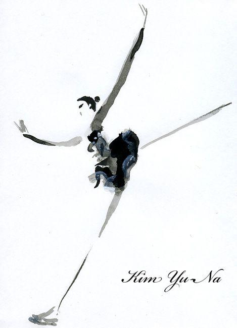 """""""Yuna Kim takes Ladies' silver at  the ISU World Figure Skating Championships 2011""""  Korean Cool beauty!  2011世界フィギュアスケート選手権、2位のキム・ヨナ。"""