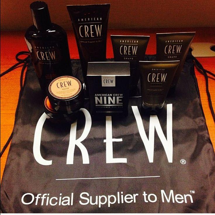 American Crew! The perfect Mens's grooming range.