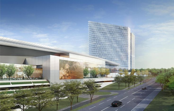 MGM National Harbor's Luxury Gaming Resort Will Open in December,Courtesy of MGM National Harbor