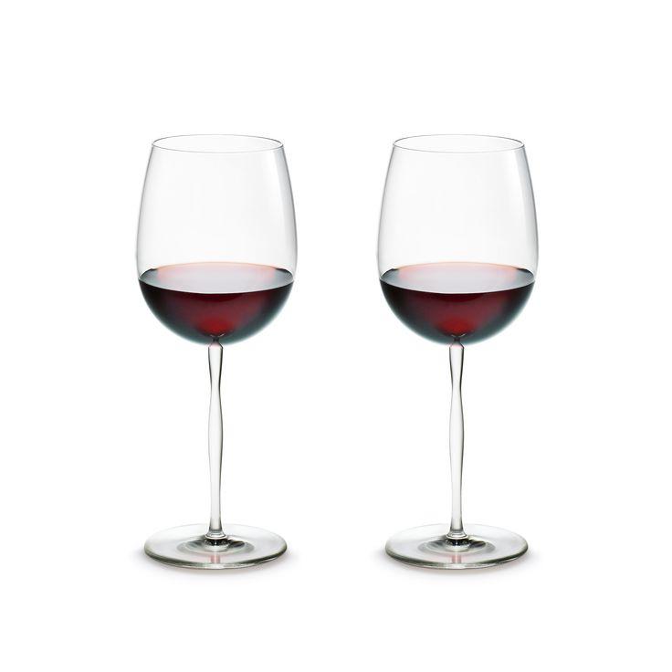 Cocoon Bordeaux vinglas fra Holmegaard.