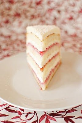 Raspberry Lemon Layer Cake