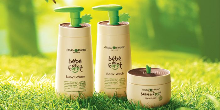 bébé de forêt is a newly launched organic skincare line of Green Finger which is the market-leading brand in baby skincare category in Korea.