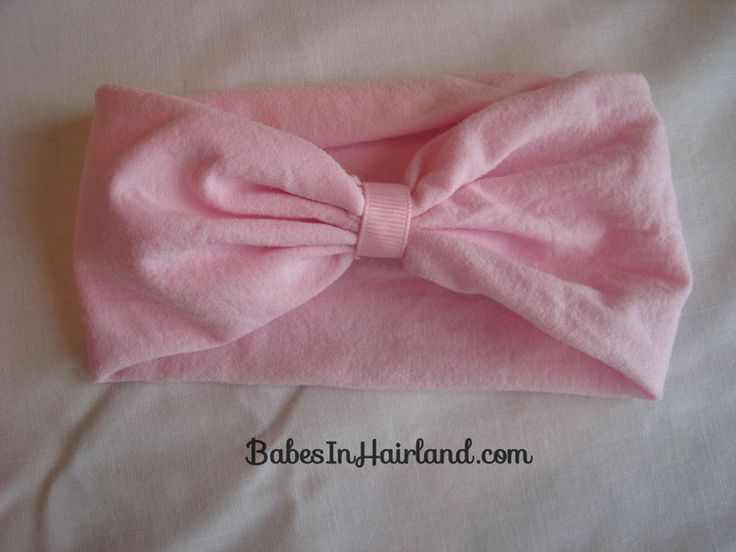 How to Make a Nylon Headband | Babes In Hairland--guess what I'm making for me!!