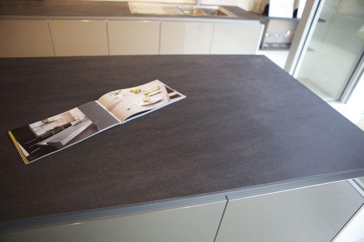 Neolith Basalt Grey Kitchen Countertop 5 Inspiration Pinterest - keramik arbeitsplatte küche