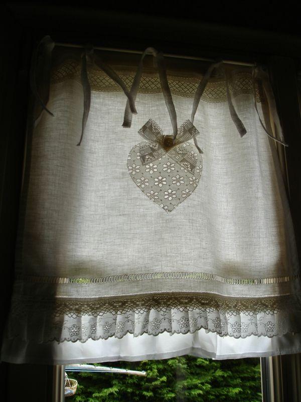 rideaux romantiques couture pinterest rideaux romantiques romantique et draps vintage. Black Bedroom Furniture Sets. Home Design Ideas