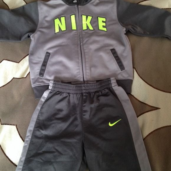 72% off Nike Outerwear - Nike sweat suit for baby boy from !..'s ...