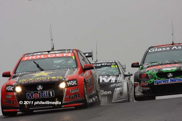 Image from V8 Supercars practice and qualifying at the 2011 Supercheap Auto Bathurst 1000.  To see more images like this, visit www.freewebs.com/philwillmedia     As a photographer I have a passion for photographing the V8 supercars.