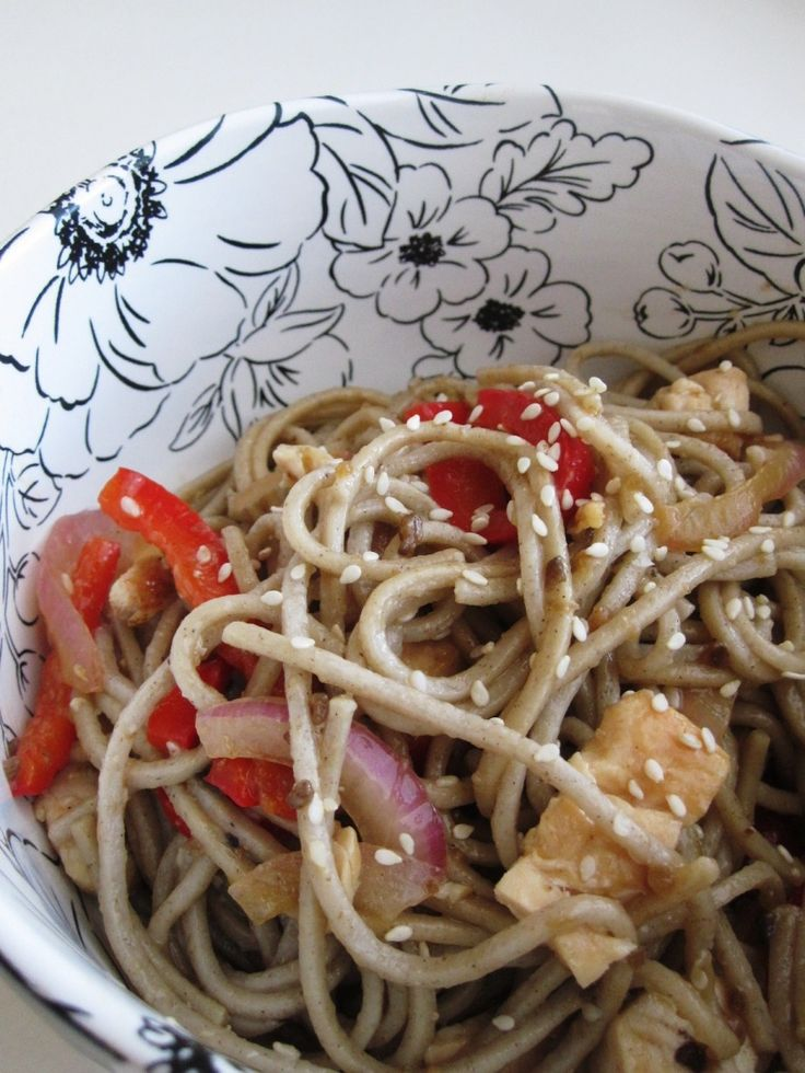 Soy Ginger Chicken with Soba Noodles | Recipes - Poultry | Pinterest
